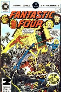 Cover Thumbnail for Fantastic Four (Editions Héritage, 1968 series) #73/74