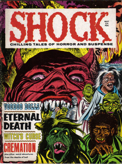 Cover for Shock (Stanley Morse, 1969 series) #v1#1