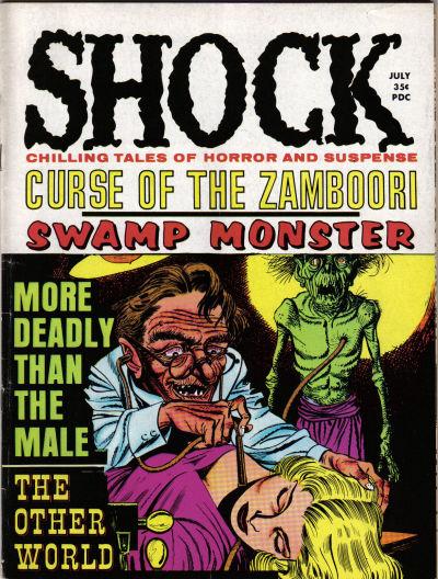 Cover for Shock (Stanley Morse, 1969 series) #v1#2