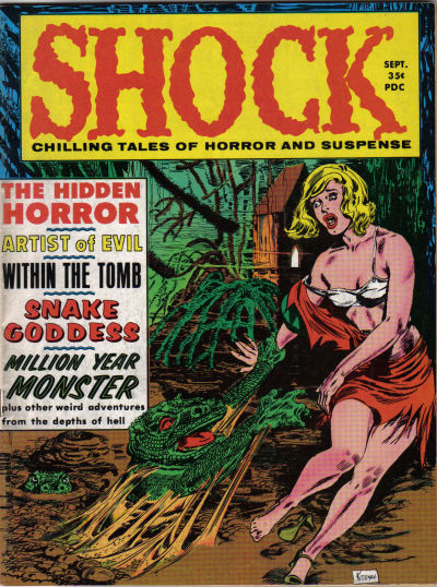 Cover for Shock (Stanley Morse, 1969 series) #v1#3