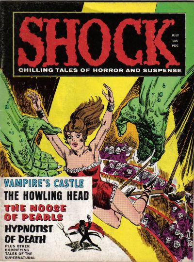 Cover for Shock (Stanley Morse, 1969 series) #v1#8