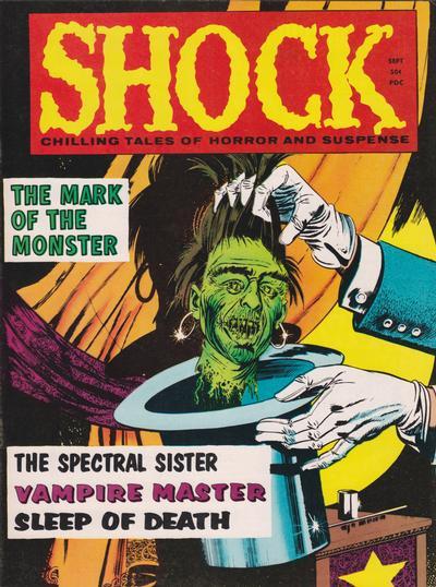 Cover for Shock (Stanley Morse, 1969 series) #v2#4