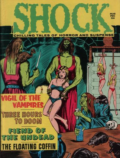 Cover for Shock (Stanley Morse, 1969 series) #v3#1