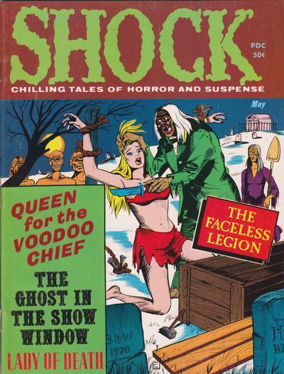 Cover for Shock (Stanley Morse, 1969 series) #v3#2