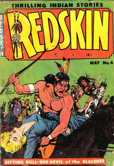 Cover for Redskin (Youthful, 1950 series) #4