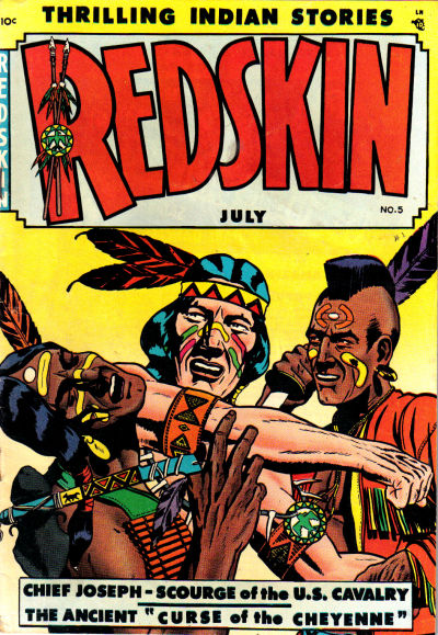 Cover for Redskin (Youthful, 1950 series) #5