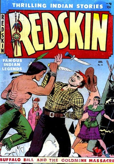 Cover for Redskin (Youthful, 1950 series) #11