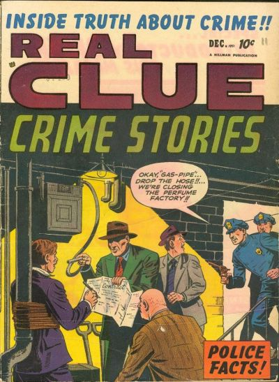 Cover for Real Clue Crime Stories (Hillman, 1947 series) #v6#10 [70]