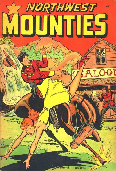 Cover for Northwest Mounties (St. John, 1948 series) #1