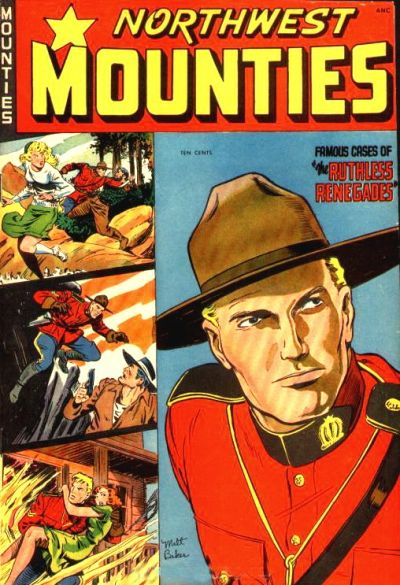 Cover for Northwest Mounties (St. John, 1948 series) #4