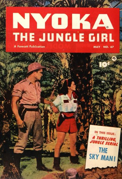 Cover for Nyoka the Jungle Girl (Fawcett, 1945 series) #67