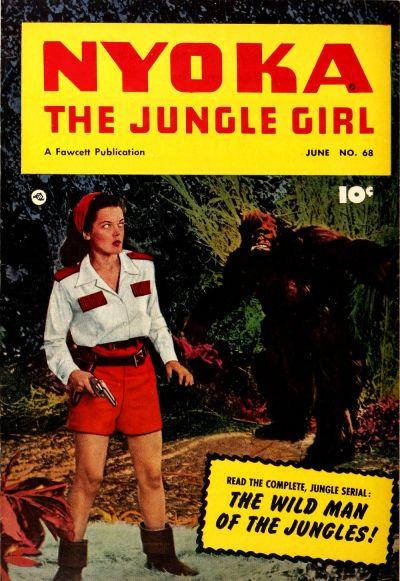 Cover for Nyoka the Jungle Girl (Fawcett, 1945 series) #68