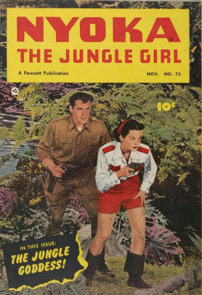 Cover for Nyoka the Jungle Girl (Fawcett, 1945 series) #73