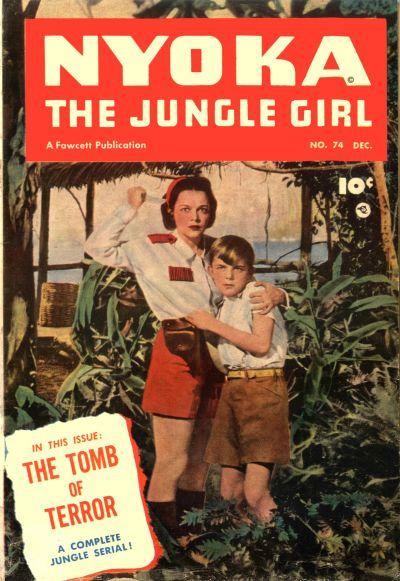 Cover for Nyoka the Jungle Girl (Fawcett, 1945 series) #74