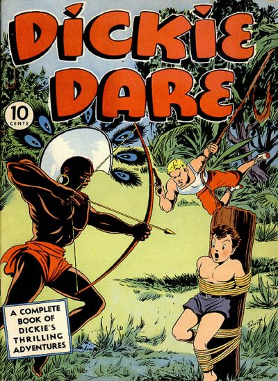 Cover for Dickie Dare (Eastern Color, 1941 series) #1