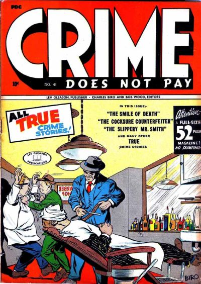Cover for Crime Does Not Pay (Lev Gleason, 1942 series) #41