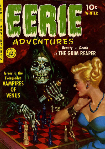Cover for Eerie Adventures (Ziff-Davis, 1951 series) #1