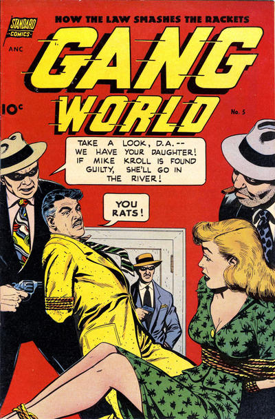 Cover for Gang World (Pines, 1952 series) #5