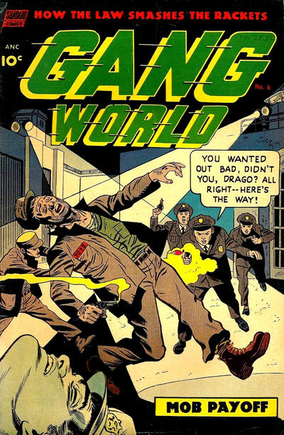 Cover for Gang World (Pines, 1952 series) #6
