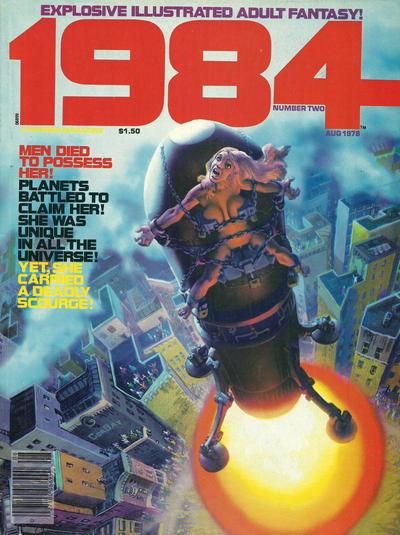 Cover for 1984 (Warren, 1978 series) #2