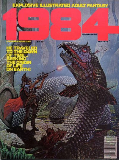 Cover for 1984 (Warren, 1978 series) #3