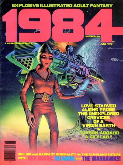 Cover for 1984 (Warren, 1978 series) #6