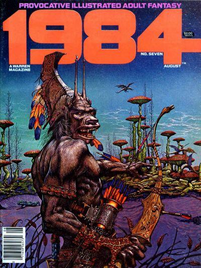 Cover for 1984 (Warren, 1978 series) #7