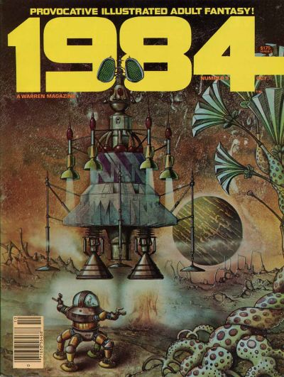 Cover for 1984 (Warren, 1978 series) #9