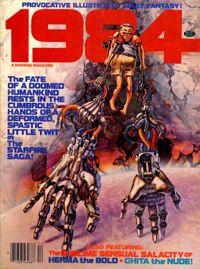 Cover for 1984 (Warren, 1978 series) #10