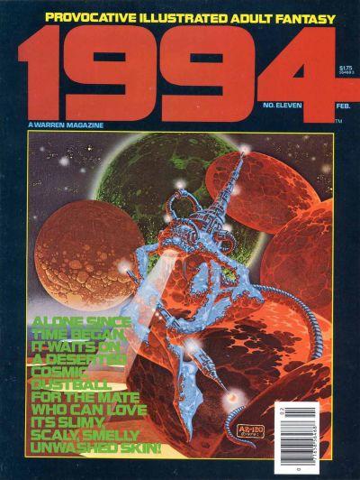 Cover for 1994 (Warren, 1980 series) #11