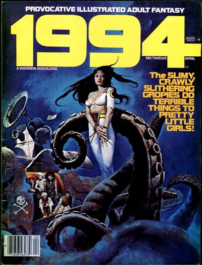 Cover for 1994 (Warren, 1980 series) #12