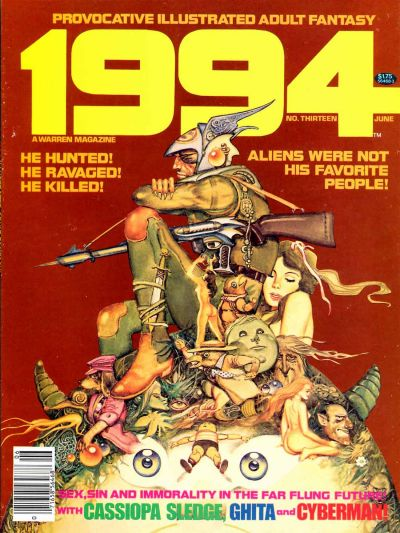 Cover for 1994 (Warren, 1980 series) #13