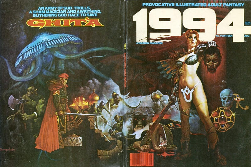 Cover for 1994 (Warren, 1980 series) #14