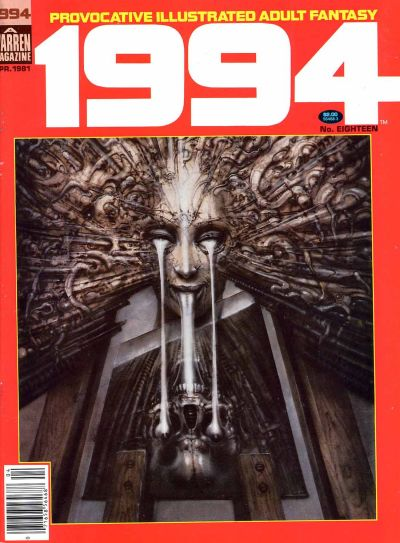 Cover for 1994 (Warren, 1980 series) #18