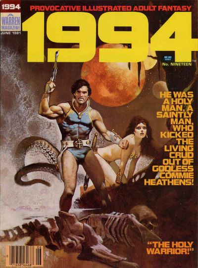 Cover for 1994 (Warren, 1980 series) #19