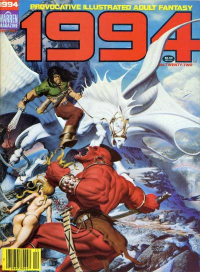 Cover for 1994 (Warren, 1980 series) #22