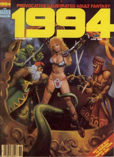 Cover for 1994 (Warren, 1980 series) #25