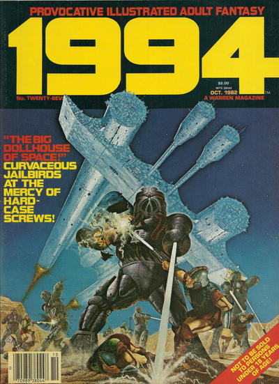 Cover for 1994 (Warren, 1980 series) #27