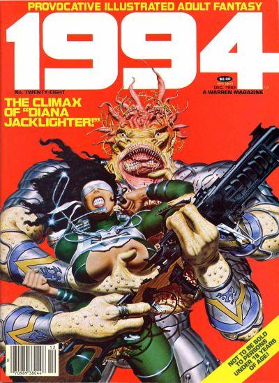 Cover for 1994 (Warren, 1980 series) #28