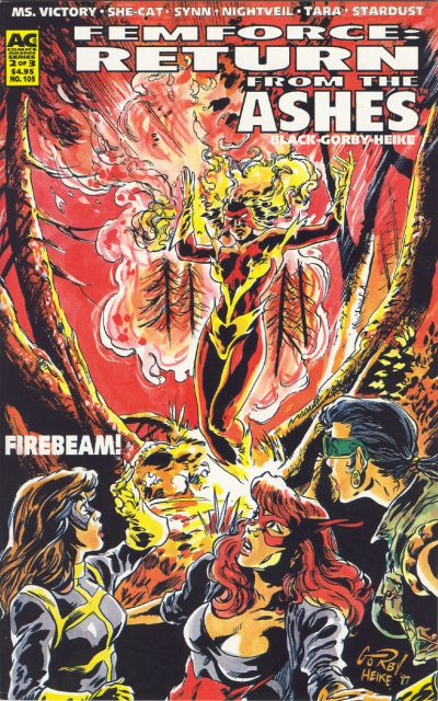 Cover for FemForce (AC, 1985 series) #105
