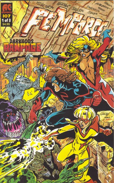 Cover for FemForce (AC, 1985 series) #107