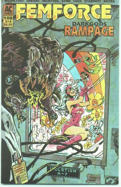 Cover for FemForce (AC, 1985 series) #108