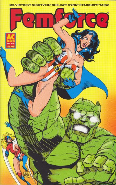 Cover for FemForce (AC, 1985 series) #114