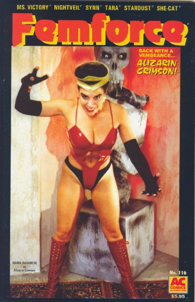 Cover for FemForce (AC, 1985 series) #116