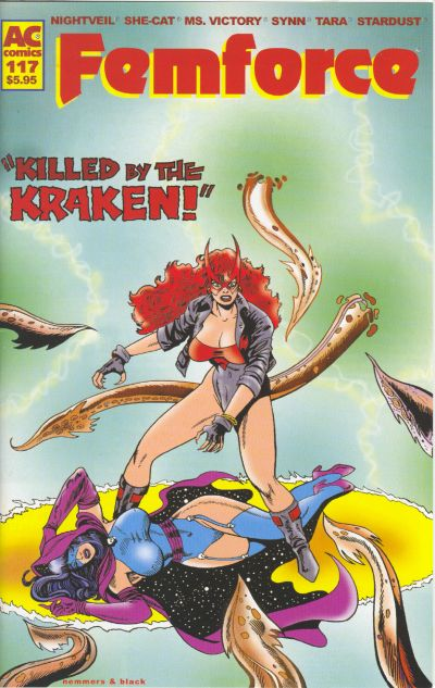 Cover for FemForce (AC, 1985 series) #117