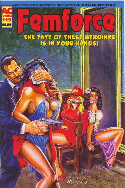 Cover for FemForce (AC, 1985 series) #119