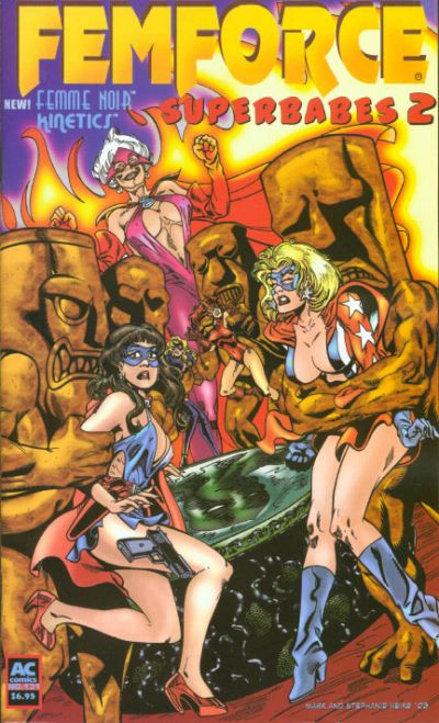 Cover for FemForce (AC, 1985 series) #121