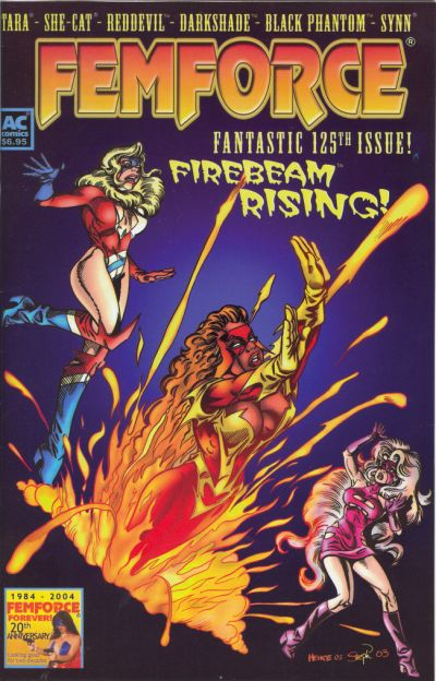 Cover for FemForce (AC, 1985 series) #125