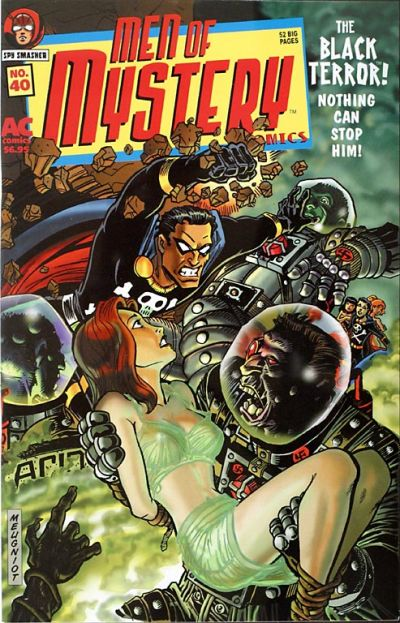 Cover for Men of Mystery Comics (AC, 1999 series) #40