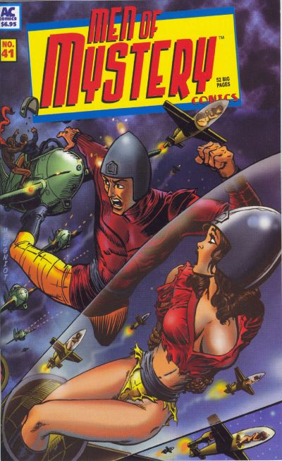 Cover for Men of Mystery Comics (AC, 1999 series) #41
